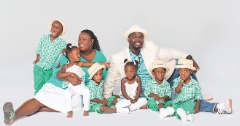 Rozonno and Mia McGhee with the McGhee Sextuplets Photos Courtesy of OWN: Oprah Winfrey Network