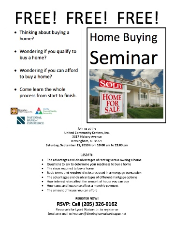 FILLER Home Buying Seminar
