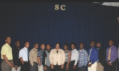 Stillman Student Panelists at Building Your Professional Brands Workshop