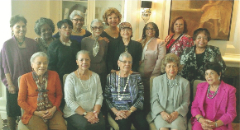 Seated (l to r): Yvonne Willie, June Davis, Laura Sterling, Josephine Kirby and Constance Jones.  Standing (l to r): Carole Rose, Corrine Coleman, Lynn Flowers-Martin, Betty Brown, Hazel Harris, Hedy Edwards, Helen Lewis, Sophia Miller, Susan Ford and Odessa Woolfolk.  Not pictured are Beverly Baker, Jothany James, Carol Mitchell, Cathy Bradford and Barbara Shores.