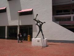 Athletes in Action Sculptor: Brother Joseph McNally Completed in November 1979