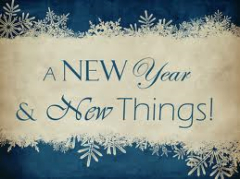 A New Year and New Things