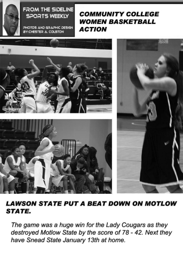 FROM THE SIDELINE LAWSONWOMEN MOLTOW STATE