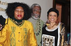 L to R: Group President Wanda Looney; Speaker, Rev. James Ephriam, Jr., and Founder Josephine Martin