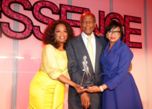 Oprah Winfrey and Sidney Poitier Presents Trailblazer Award to Cheryl Boone Isaacs