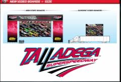 *TALLADEGA TSS Video Boards final version