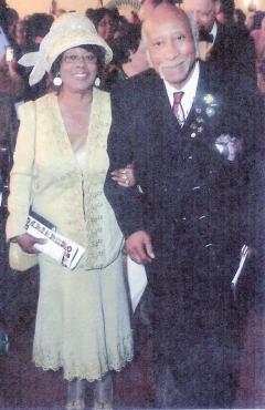 Photo (no credit for Mr. Nall on the program)  Rev. Dr. & Mrs. Jonathan McPherson, Sr.