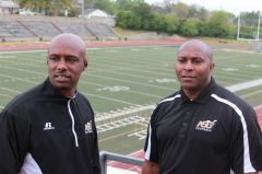Coach Jackson and Coach Barlow