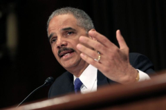 Attorney General Eric Holder testifies before the House Judiciary Committee on the oversight of the U.S. Department of Justice on Capitol Hill in Washington, Tuesday, April 8, 2014. (AP Photo/Manuel Balce Ceneta)