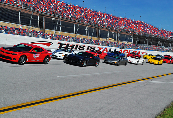 CORVETTES RACING AT TALLADEGA SUPERSPEEDWAY? NOT QUITE!