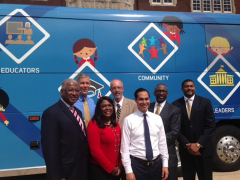 Mayor Hosts US Secretary of Education and US Secretary of HUD