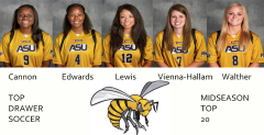 Five Lady Hornets