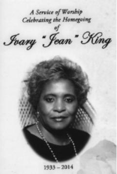 OBITIvary Jean King