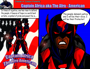 captain africa afro american1new1