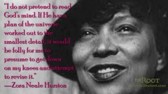 Little Known Black History Fact Zora Neale Hurston The