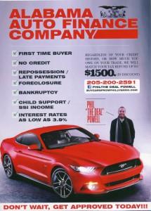 Alabama Auto Fin Co