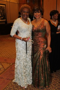 UNCF Honoree Sherry Lewis and Ms. Justine Boyd, UNCF Regional Development Director