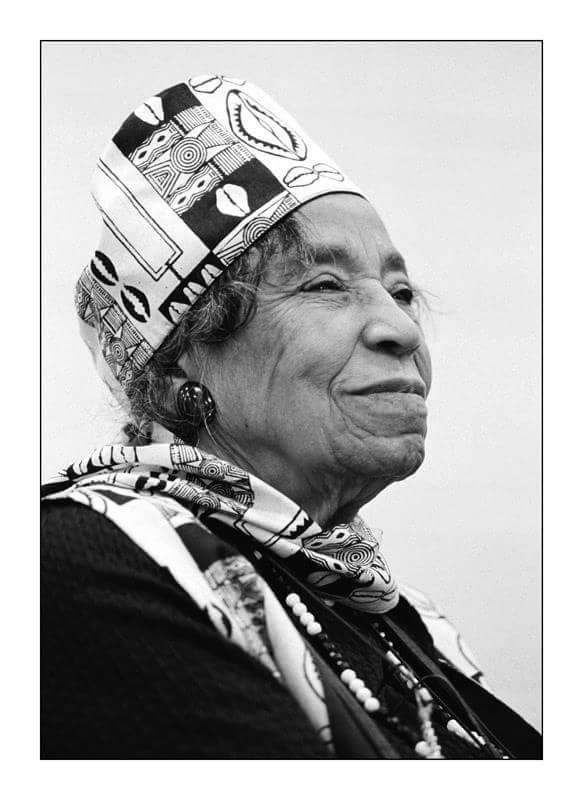 Dr Amelia Boynton Robinson - Queen Mother looking like a Queen