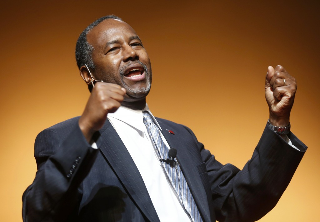 Republican U.S. presidential candidate Carson officially launches bid for the Republican presidential nomination in Detroit