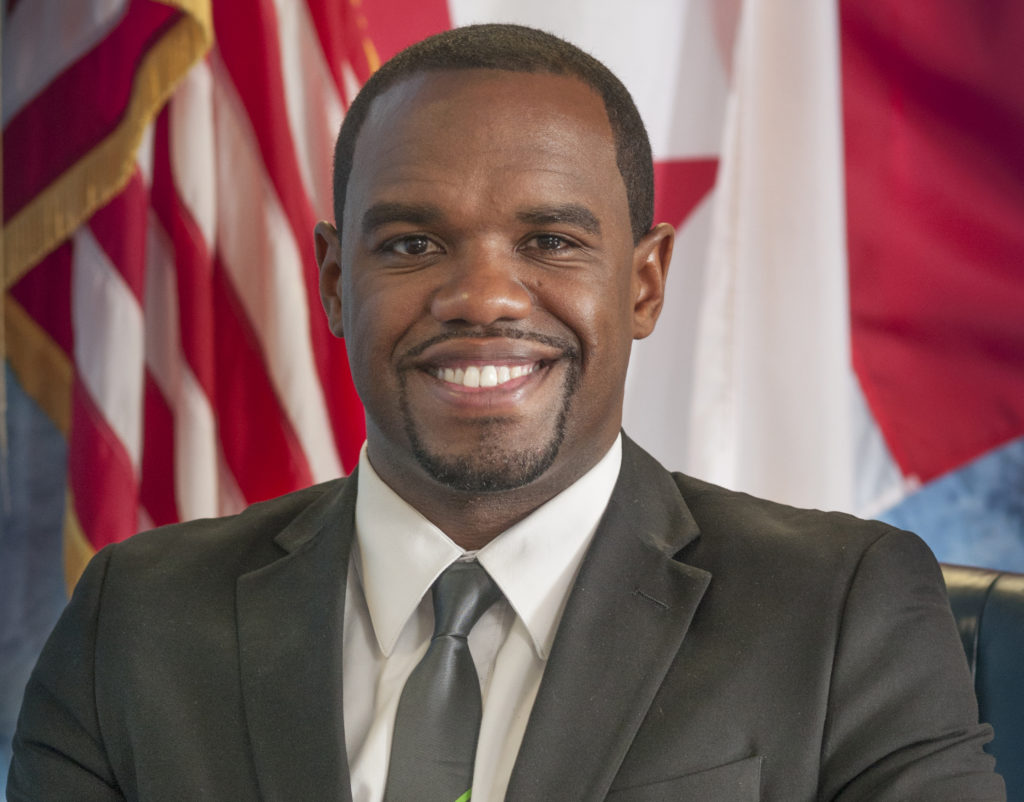 City Council President Johnathan Austin