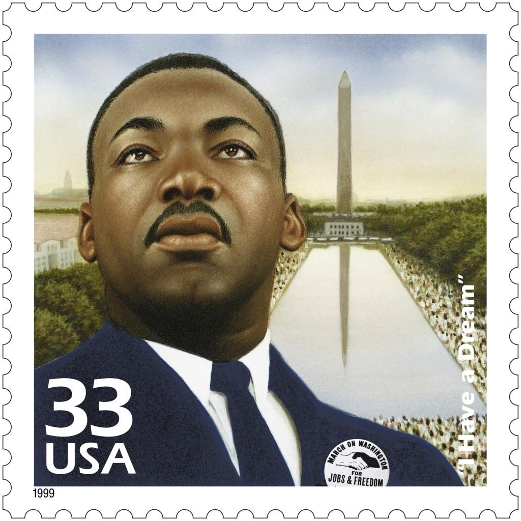 Dr. Martin Luthur King, Jr. (CTC - 1960s) - 3188a