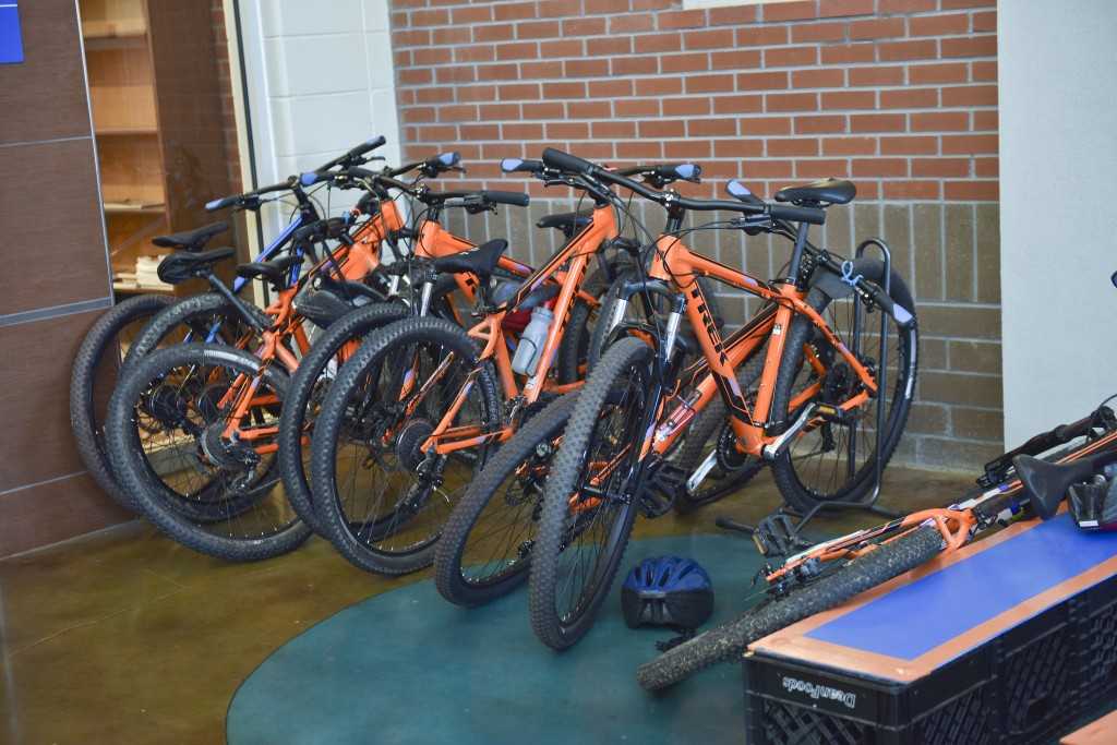 Wayne Jackson has started a mountian biking team at Hayes K-8 School near Kingston. An initiative had been launched to recruit African American male teachers to Birmingham City Schools. (Frank Couch/The Birmingham Times)