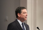 FBI Director James B. Comey spoke at Sixteenth Street Baptist Church to discuss the law of enforcement and race on Wednesday. (ARIEL WORTHY, THE BIRMINGHAM TIMES)