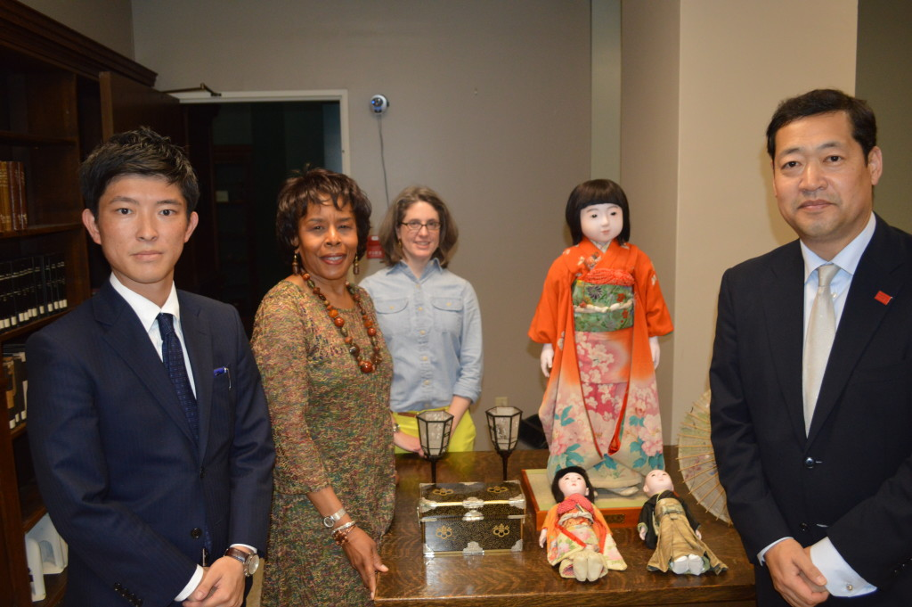 Miss. Iwate visit to BPL by Japan External Trade Organization (photo courtesy)