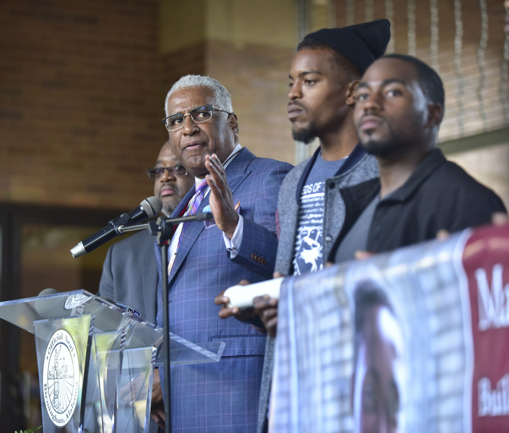 Birmingham Mayor William Bell has served in that capacity since his election in 1990 and has a schedule full of events daily. (Frank CouchThe Birmingham Times)