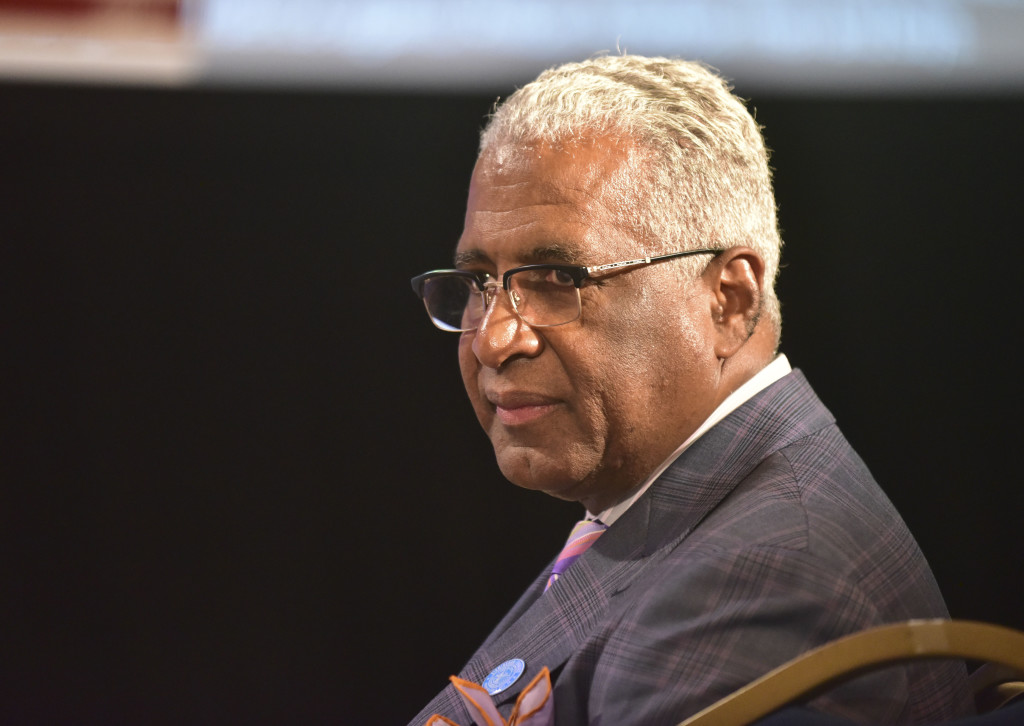 Birmingham Mayor William Bell has served in that capacity since his election in 2010 and has a schedule full of events daily. (Frank Couch\The Birmingham Times)