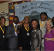 From left: Isaiah Armstrong, TJ Hudson, Paulette P, Roby, Renee Kemp Rotan, AJ  Johnson, Ann Marie Adams, and Shirley Long Peoples