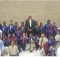 Jefferson County District 1 Commissioner George Brown (center) shared his experiences as a Cub Scout, as well as how he became a general in the United States Army. ( Courtesy Photo)