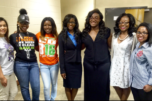 From left, Parker High School's Alejandrina Bravo plans to attend Alabama State University and study physical therapy; Woodlawn High School's Michelle Thomas plans to attend Jefferson State Community College; Huffman High School's Kierra Hutchins plans to attend the University of South Alabama to study psychology; Carver High School's Jamerial Gardner and Ariana Robinson are best friends and both plan to attend Wilberforce University; Jackson-Olin High's Alana Bennett plans to attend Alabama A&M University to study political science; and Ramsay High's Maya Quinn plans to attend Samford University to study biology.