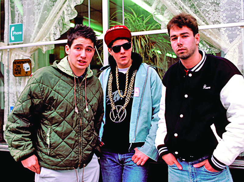 Click the image above to hear some of the greatest hits by Beastie Boys