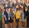 Some Birmingham Public Library Young Professionals. From left: Fatima Carter, Joelle Limbaugh, Sabrina Mays, Kristy Stewart, Dionne Clark, and James A. Sullivan.