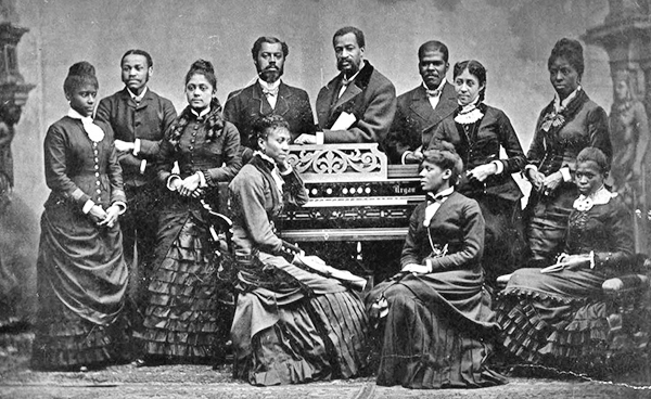 Click the image above to hear some of the greatest hits from,  Fisk Jubilee Singers