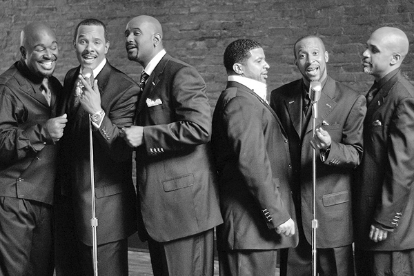 Click the image above to hear some of the greatest hits from, Take 6