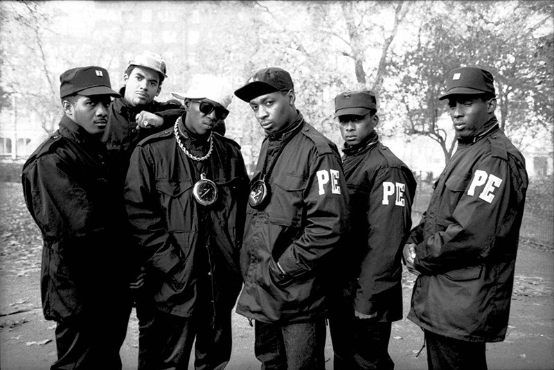 Click the image above to hear some of the greatest hits from, Public Enemy  (Photo by David Corio/Redferns)