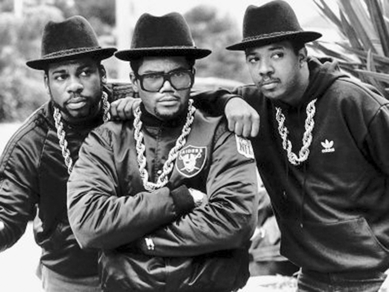 Click the image above to hear some of the greatest hits from, Run - DMC