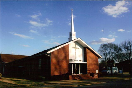 Hopewell AME Church in the Kingston Community since 1899​