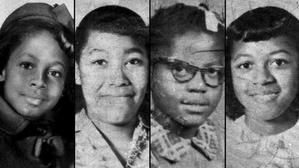 Denise McNair, 11, Carole Robertson, 14, Addie Mae Collins, 14, and Cynthia Wesley, 14, were killed in the Sixteenth Street Church bombing in 1963. Thomas Blanton Jr., who was convicted for his role in the deaths, will soon be up for parole. (Wikipedia Commons)