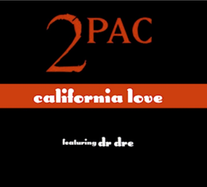 "Cover art for ""California Love"""