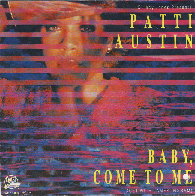 "Cover art for ""Baby Come to Me"""