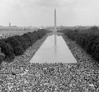 The 1963 March on Washington.  US Government photo