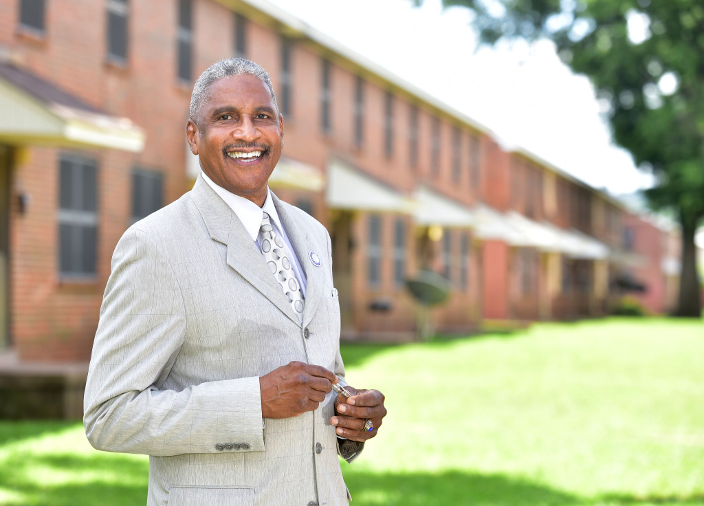 "HABD President/CEO Michael Lundy called the reinvigorated self-sufficiency plan and mix of programs part of his ""Up and Out"" program, where residents agreed to a five-year plan toward independence. (Provided photo)"