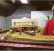 Roy Wood has spent the past several years perfecting a model train miniature world in his home.