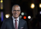 In this Oct. 28, 2015, file photo, NBC Nightly News anchor Lester Holt arrives at the 9th Annual California Hall of Fame induction ceremonies at the California Museum, in Sacramento, Calif.  Holt will moderate the first scheduled presidential debate on Sept. 26, 2016 with  ABC's Martha Raddatz, CNN's Anderson Cooper and Fox News Channel's Chris Wallace lined up for others. (Jose Luis Villegas/The Sacramento Bee via AP, Pool, File)