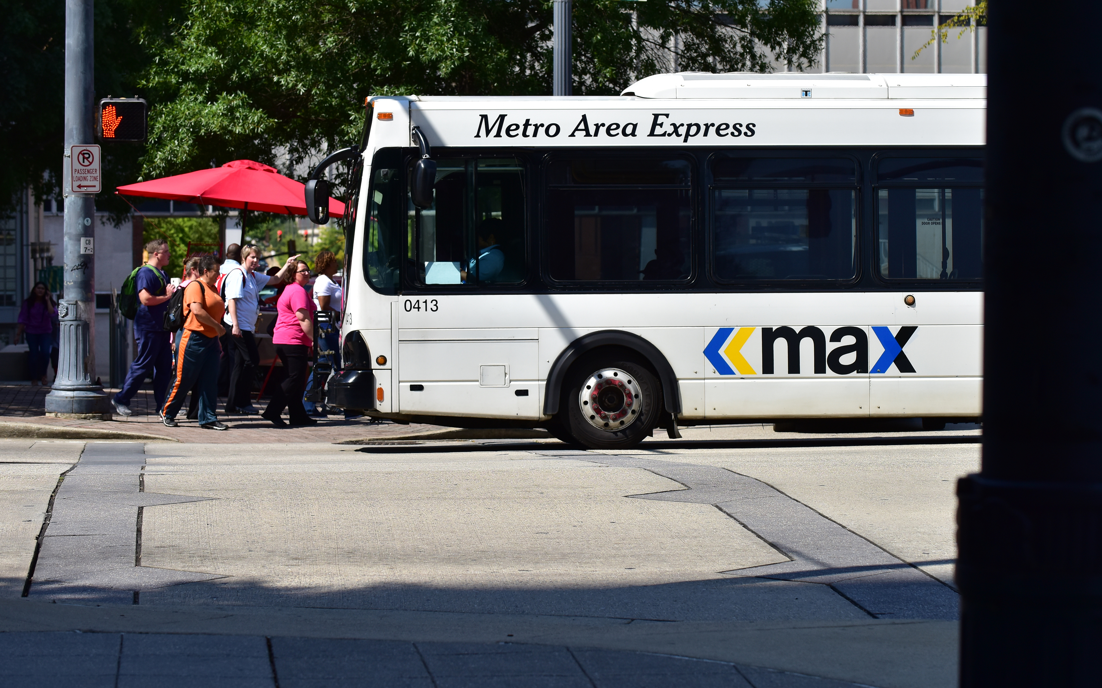 Birmingham Metro Area Express or MAX busses on routes throughout Birmingham. (Frank Couch, special to The Times)