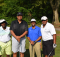 Birmingham Councilman Jay Roberson, second from left, participated in the 2015 George Pegues Self-Sufficiency Golf Tournament with teammates at Roebuck Golf Course. (Provided photo)