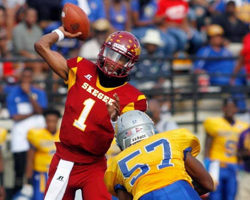 Tuskegee quarterback Kevin Lacey. (Provided photo)